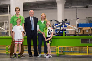 FROG BIKES OPENS NEW FACTORY IN PONTYPOOL