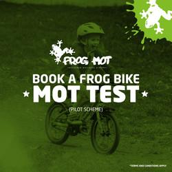 Frog Bikes New M.O.T Scheme